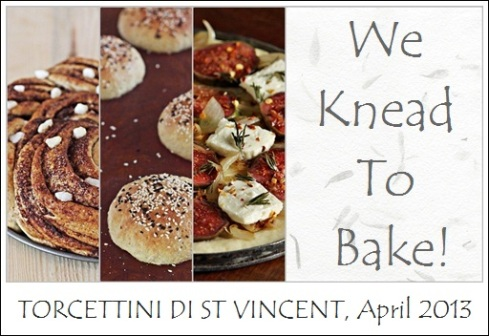 We Knead To Bake Logo April
